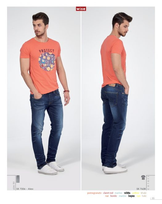 Protect Sıfır Yaka T-shirt